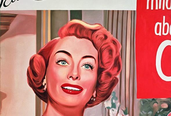 PAINTING AS IMMERSION 建構於廣告上的普普繪畫 - James Rosenquist