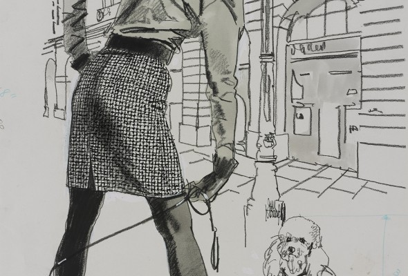 Drawn to Glamour: Fashion Illustration by Jim Howard 用畫筆紀錄風格時尚